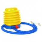 Fashion Foot Pump Tool for Inflatable Toy - Yellow + Blue