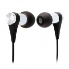 XKDUN CK-900 Stylish In-Ear Earphone - Black (3.5mm / 120cm)