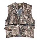 Outdoor Camouflage Bionic Jungle Vest (XL)