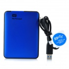 WD Super Speed USB 3.0 External Mobile HDD Hard Disk Drive - Blue (1TB)