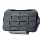 JJC Water Proof Plastic CF / TF / XD Memory Card Case - Black