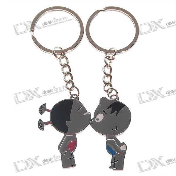 Magical Lovely Couples Keychains (2-Piece Set)