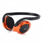 H-580 Rechargeable Bluetooth v2.1 + EDR Stereo Headphone - Black + Orange