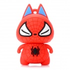 Spider Man Figure USB 2.0 Flash Drive - Red (8GB)