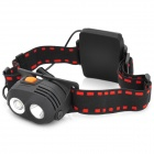 NEW-577 CREE XP-E R2 2-Mode 270LM White LED Headlamp - Black (3 x AA)