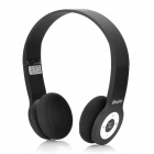 Bluejoy 860 Rechargeable Folding Bluetooth v2.1 Stereo Headphone - Black