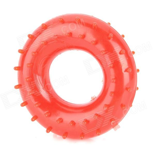 20KG Hand Grip Ring Strength Massager Exerciser - Red