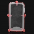 Waterproof Protective ABS + Silicone Case for Iphone 4 / 4S - Red