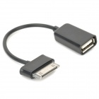 USB OTG Adapter Cable for Samsung Galaxy Note 10.1 / GT-N8000 / Galaxy Tab 2 / P5100 - Black
