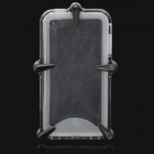 Waterproof Protective ABS + Silicone Case for iPhone 4 / 4S - Black