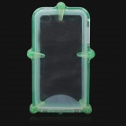 Waterproof Protective ABS + Silicone Case for Iphone 4 / 4S - Green