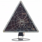 Car / Motorcycle DIY Multi-Colored 21-LED Spider Style Triangle Tail Light for Halloween (DC 12V)