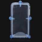 Waterproof Protective ABS + Silicone Case for Iphone 4 / 4S - Blue