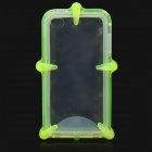 Waterproof Protective ABS + Silicone Case for Iphone 4 / 4S - Fluorescence Green