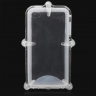 Waterproof Protective ABS + Silicone Case for iPhone 4 / 4S - Transparent