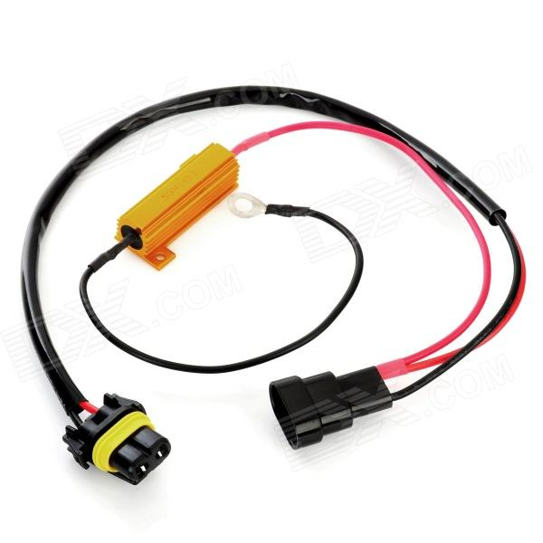 sku_154434_1 9005 led light xenon hid resistor wiring harness socket free  at gsmx.co