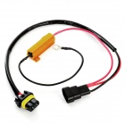 9005 LED Light Xenon HID Resistor Wiring Harness Socket