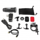 RD360 5.0MP Wide Angle HD 1080P Sports 20m Waterproof Diving Camera w/ DV / HDMI / USB / TF - Black