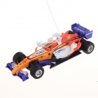 1:52 Мини 3-CH 49MHz Remote Controlled R / C Formula Racing Car - желтый + белый
