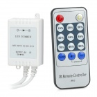 TY-D300IR LED-Lampe Streifen Infrared Remote Light Controller - Black (1 x CR2025)