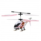 Mini Rechargeable 3-CH IR Remote Control R/C Helicopter - White + Red + Black