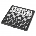 Travel    Folding Magnetic Checkers Set