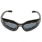 CARSHIRO Motorcycle Polarized Resin Lens Sunglasses - Grey