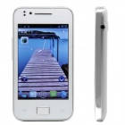 "T3000 Android 4.0 GSM Smartphone w / 3,5 ""kapazitiven Bildschirm, Quad-Band, Wi-Fi und FM - White"