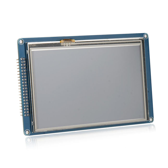 800 x 480 5.0 LCD TFT Touch Screen Module w/ Stylus Pen for Arduino 8 4inch 8 4 non touch industrial control lcd monitor vga interface white open frame metal shell tft type 4 3 800 600