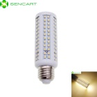 E27 12W 3500K 470lm 171-LED Warm White Light Bulb - White (AC 85~265V)