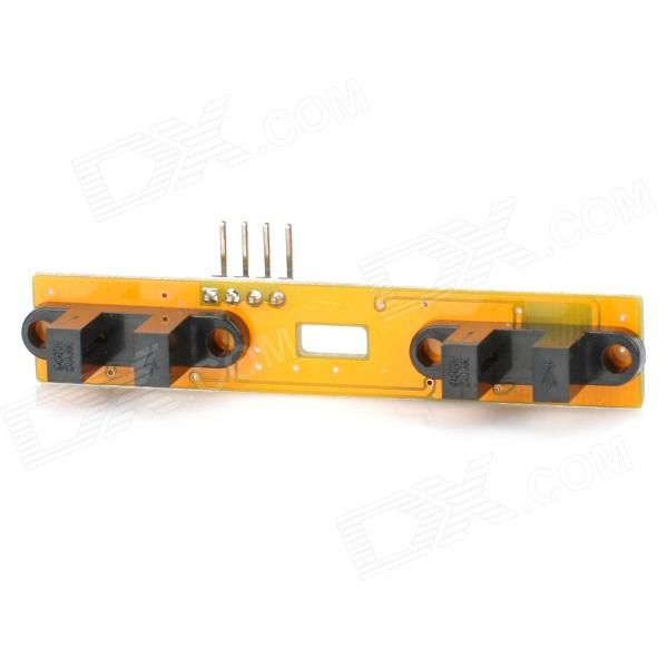 Speed Test Counting Module for Smart Tracing Car - Yellow