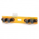 Speed ​​Test Counting Module für Smart Tracing Car - Yellow
