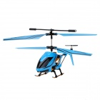 Rechargeable 3-CH IR Remote Control R/C Helicopter - Blue