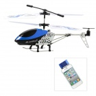 Rechargeable Alloy 3-CH Iphone / Ipad / Ipod Remote Control R/C Helicopter w/ Gyroscope - Blue