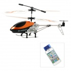 Rechargeable Alloy 3-CH Iphone / Ipad / Ipod Remote Control R/C Helicopter w/ Gyroscope - Orange