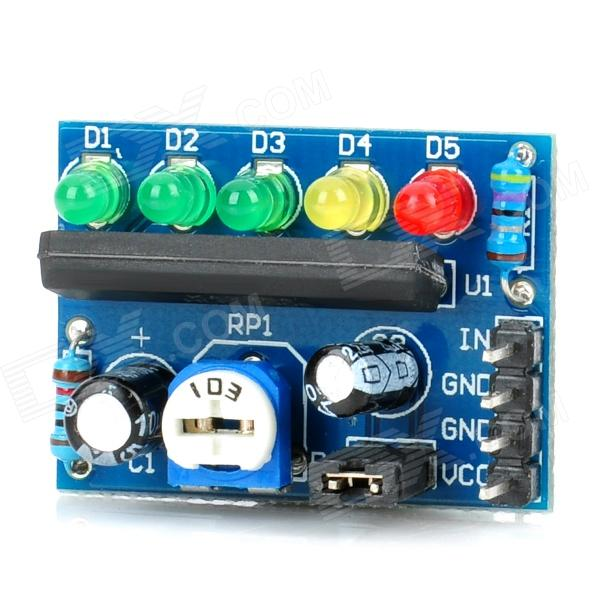 KA2284 Electricity Audio Level Indicator Module - Blue jzl 1 35v low voltage ddr3l 1333mhz pc3 10600s 8gb ddr3 pc3 10600 1333 1066 mhz for laptop notebook sodimm ram memory sdram