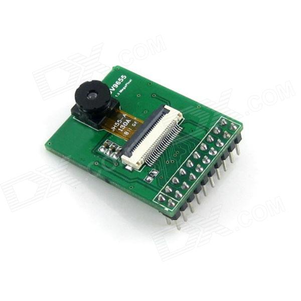 OV9655 1.3MP Camera Module Board - Green