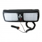 Super Bright 86-LED Red / Blue Light Car Truck Visor Strobe Flash Light Panel