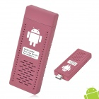 UG802 Android 4.1 Cortex A9 Mini PC w/ Wi-Fi / HDMI / Dual Core / 1GB RAM / 4GB ROM - Light Maroon