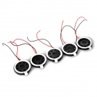 DIY YD15A08-04W20 0.5W 20 x 4.5mm Speaker Driver Units (5 PCS)