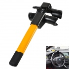 Anti-Theft Car Steering Wheel Security Lock - Yellow + Black