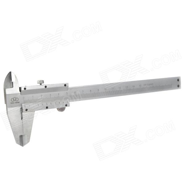 150mm Carbon Steel High Precision Vernier Caliper - Silver