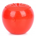 Tomato Shaped USB Powered Air Purifier Ionizer - Red