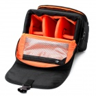 Sepai B705 Protective Nylon Camera One-Shoulder Handheld Bag for Sony A350 / A380 DSLR - Black