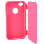 Protective Flip Open Soft Plastic Case for Iphone 4 / 4S - Pink