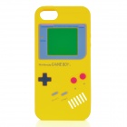 Protective Nintendo Game Boy Style Silicone Back Case for iPhone 5 - Yellow