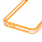 Protective Bumper Frame for Iphone 5 - Transparent + Orange