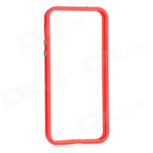 Protective Bumper Frame for Iphone 5 - Red - DXPlastic Cases<br>Quantity: 1 - Color: Red - Material: ABS - Compatible models: Iphone 5 - Protects the frame of your Iphone 5 from abrasion - Packing list: - 1 x Bumper frame<br>