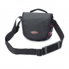 Fashion Sepai B606 Protective One-Shoulder Bag for Sony A350 / A380 DSLR - Black