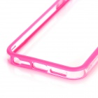Protective Bumper Frame for Iphone 5 - Transparent + Pink